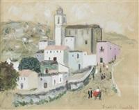 village portugais by francis smith