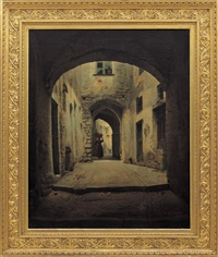 borgo storico, san remo by michele allavena