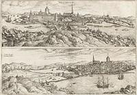 stockholm (from civitates orbis terrarum) by franz hogenberg