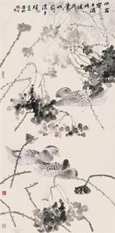 秋塘 by xu xiaobin