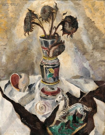 winter bouquet by c bertram hartman