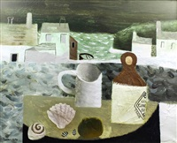 still life on the shore by mary fedden