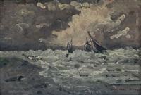 mare in burrasca by arrigo simeoni