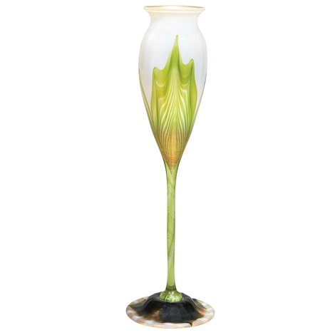 vase by louis comfort tiffany