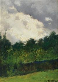 cielo minaccioso by lorenzo delleani