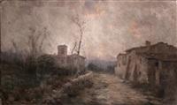 camino a la iglesia by aurelio tolosa alsina