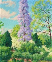 spring landscape by garnet w. jex