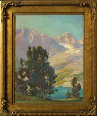 high sierras landscape by evylena nunn miller