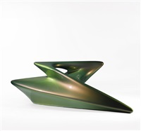 gyre lounge chair from the seamless series by zaha hadid