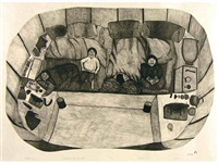 interior view by napatchie pootoogook