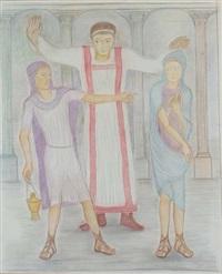 caesar tiberius - l'empereur tibère et ses deux acolytes by pierre klossowski