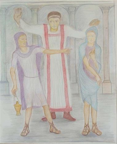 caesar tiberius lempereur tibère et ses deux acolytes by pierre klossowski