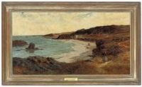 the coast off devon by colin hunter