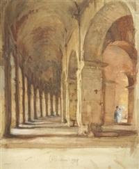 im kolosseum by francis h. dodd