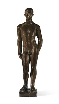 jeune homme by aristide maillol