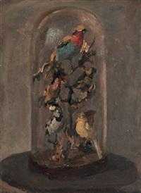uccelli imbalsamati sotto la campana by gianni vagnetti