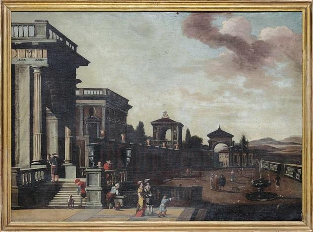 architekturcapriccio by viviano codazzi