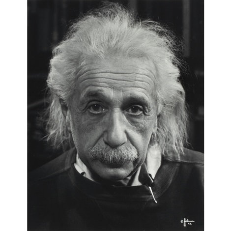 einstein by philippe halsman