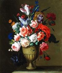 blumenstrauss in vase by antoine monnoyer