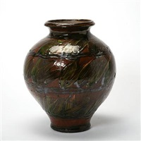 vase by kähler pottery (co.)