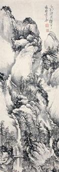 观瀑图 by xu boheng