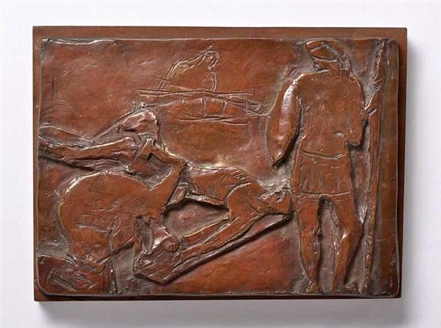 a figural composition by bedrich stefan