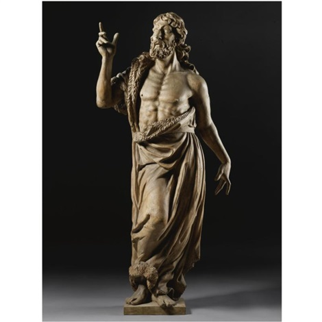 st john the baptist by michel anguier