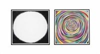 untitled (diptych) by tom friedman