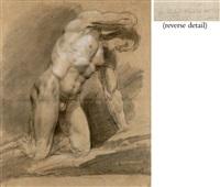male nude (study) by orest adamovich kiprensky