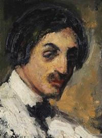 portrait du compositeur jef van hoof by jacobs (jakob) smits