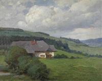 bauernhaus im schwarzwald by fritz reiss