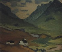 in glencoe by denis frederic neal peploe
