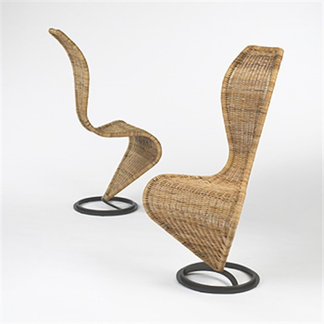 s chairs pair by tom dixon