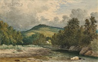 river view by henry hitchings