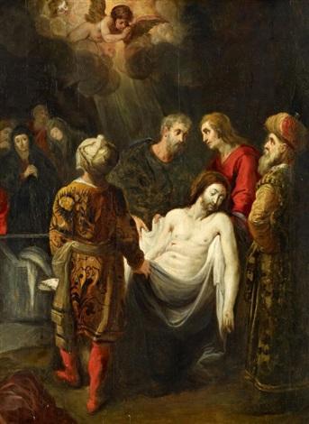 die grablegung christi by theodor van thulden