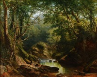 on the erme, ivy-bridge, devonshire by william (of plymouth) williams