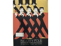 big city four (+ meehan's canines, 2 works) by alfonso iannelli
