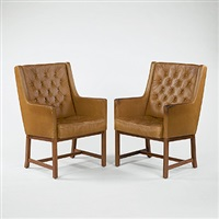 high back arm chairs by erik karl exselsius