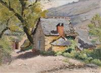 la ferme... à entraygues (petite maison dans l'auvergne) by lucien bleyfus