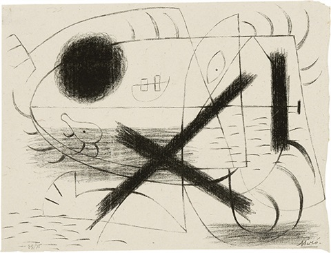 lithographie i by joan miró