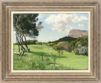 golf at clovelly, fish hoek by francis e. hiley