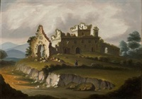 castle ruins by thomas chambers