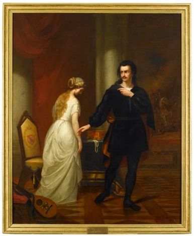 hamlet and ophelia by george w pettit