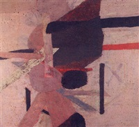 abstract composition by franklin adams