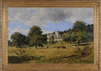 view of a scottish manor house by john blake mcdonald
