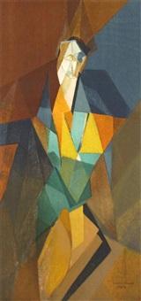 femme cubiste by jacques villon