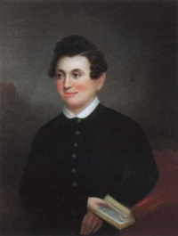 portrait of a young man, member of the augustine-wogan-labranche family, new orleans by american school-louisiana (19)