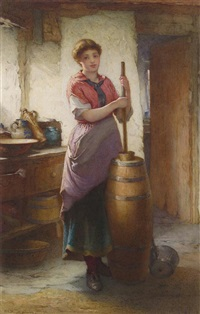 the dairy maid by william harris weatherhead