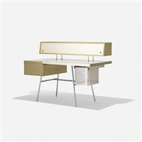special-ordered home office desk (model 4658) by george nelson & associates