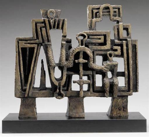 sculpture pour larchitecture ou le portique by ossip. Black Bedroom Furniture Sets. Home Design Ideas